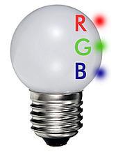 DURA LED Gekleurde kogellamp / VPE 10