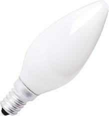 KAARSLAMP25W/220-240V E14/WHITE