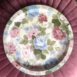 Dienblad Pastel Bloemen