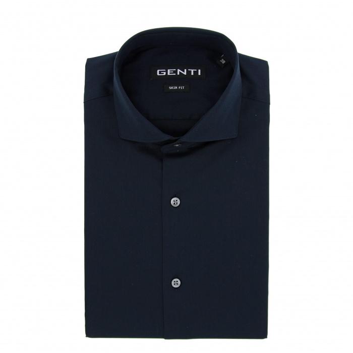 Genti Dress shirt NAVY