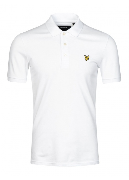 Lyle&Scott Slim-Fit Polo Wit