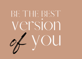 kaart, be the best version of you