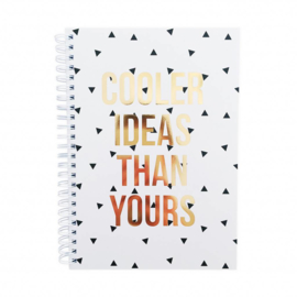 note book, cooler ideas than yours