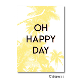kaart, oh happy day