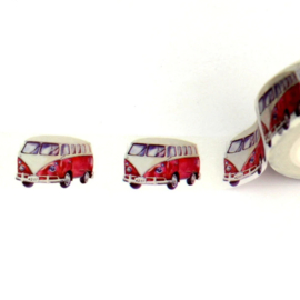 washi tape Volkswagen bus, 10 meter