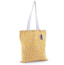 katoenen shopper limon