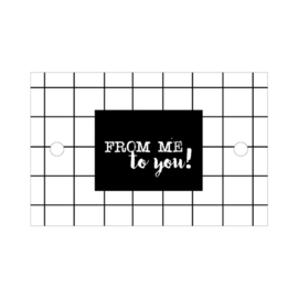label, from me to you 5 stuks