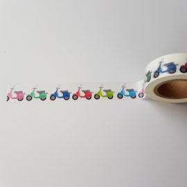 washi tape scooters, 10 meter