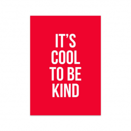 kaart, it's cool to be kind