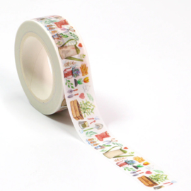 washi tape, in de tuin 10 meter