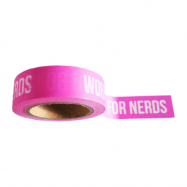 washi tape words are for nerds, 10 meter