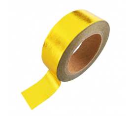 washi tape metallic goud, 10 meter