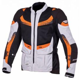 Macna Furio Motorjas Wit/Zwart/Oranje