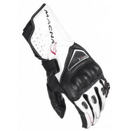 Macna Vortex Motorhandschoen Zwart/Wit