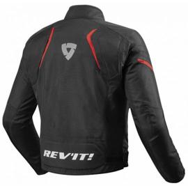 Rev'it! Jupiter 2 Motorjas Zwart/Rood