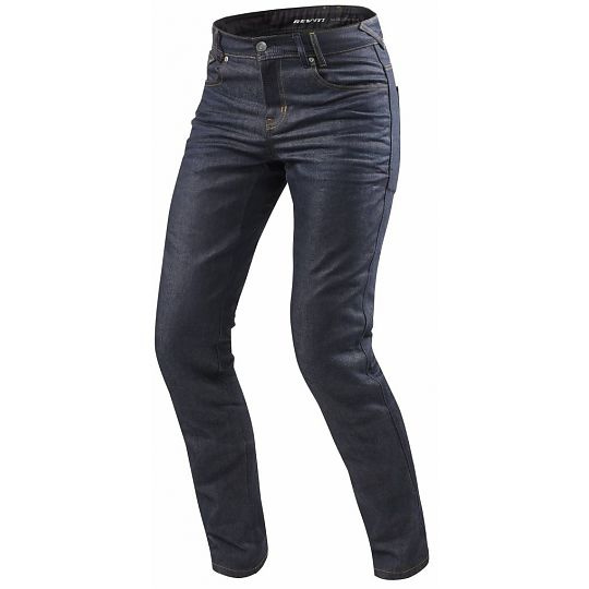 Rev'it! Vendome 2 RF Motorjeans Donker Blauw L34