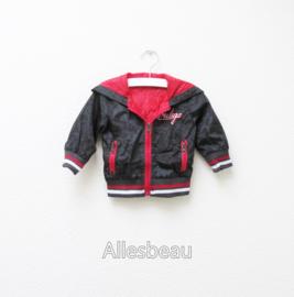 Set Indigo streetwear baby red 3-delig