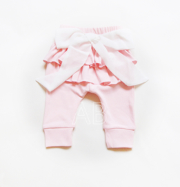 Bow broekje roze