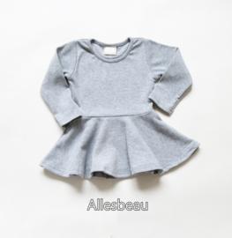 Basic jurkje grijs