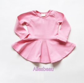 Basic jurkje roze
