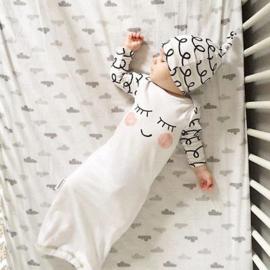 Slaapzakje Sleepy bag incl mutsje