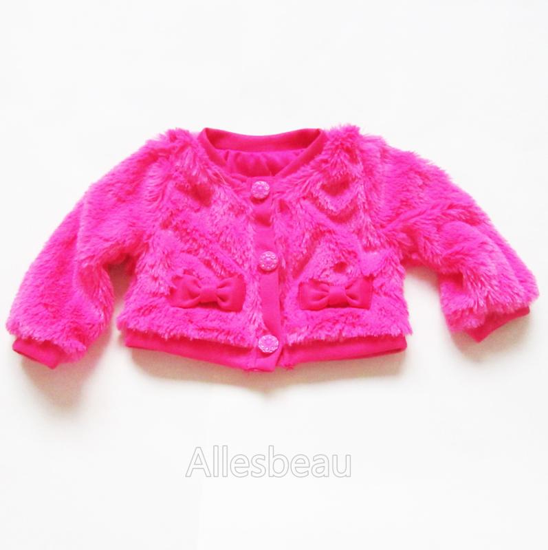 Pretty pink Teddy jasje