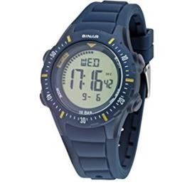 Sinar XR-12-2 digitaal tiener horloge 40 mm 100 meter blauw