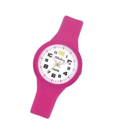 Tekday 653984 analoog horloge 32 mm 100 meter roze/ wit