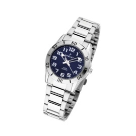 Nowley 8-5384-0-3 analoog tiener horloge 32 mm 50 meter blauw