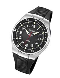Calypso K6063/4 analoog tiener horloge 42 mm 100 meter zwart