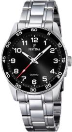 Festina F16905/4 tiener horloge 34 mm 50 meter zwart
