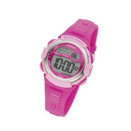 Nowley 8-6242-0-5 digitaal tiener horloge 35 mm 100 meter roze