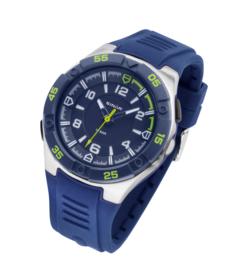 Sinar XD-45-2 analoog tiener horloge 44 mm 100 meter blauw/ groen