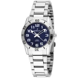 Nowley 8-5864-0-3 analoog tiener horloge 32 mm 50 meter blauw
