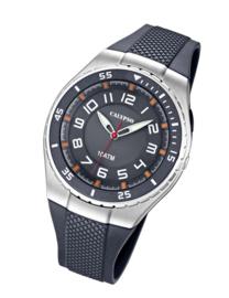 Calypso K6063/1 analoog tiener horloge 42 mm 100 meter grijs
