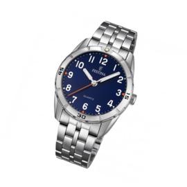 Festina F16907/2 tiener horloge 33 mm 50 meter blauw