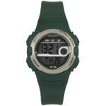 Coolwatch CW.341 digitaal tiener horloge 34 mm 100 meter groen