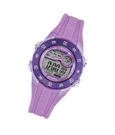 Tekday 653964 digitaal tiener horloge 35 mm 100 meter paars