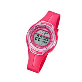 Calypso K5727/5 digitaal tiener horloge 34 mm 100 meter roze