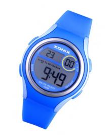 Xonix EV-005 digitaal tiener horloge 36 mm 100 meter blauw