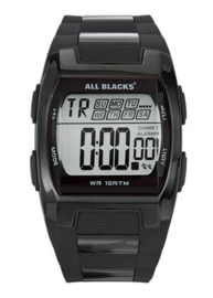 All Blacks 680057 digitaal tiener horloge 37 mm 100 meter zwart