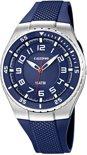 Calypso K6063/2 analoog tiener horloge 42 mm 100 meter blauw
