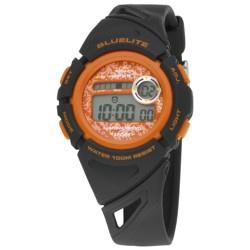 Nowley 8-6237-0-3 digitaal tiener horloge 37 mm 100 meter zwart/ oranje