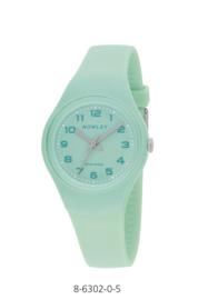 Nowley 8-6302-0-5 analoog tiener horloge 34 mm 100 meter turquoise
