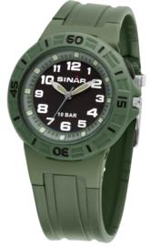 Sinar XB-20-13 analoog tiener horloge 38 mm 100 meter groen