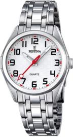 Festina F16903/1 tiener horloge 31 mm 50 meter wit