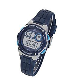 Marea B25154/2 digitaal tiener horloge 36 mm 100 meter blauw