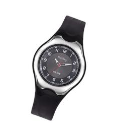 Tekday 654127 analoog tiener horloge 37 mm 50 meter zwart/ grijs