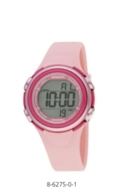 Nowley 8-6275-0-1 digitaal tiener horloge 36 mm 100 meter roze