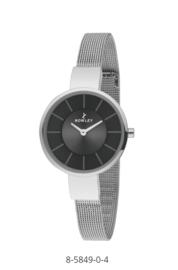 Nowley 8-5849-0-4 analoog tiener horloge 32 mm 30 meter zilverkleurig/ grijs